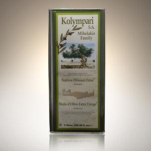 Natives Olivenöl Extra 5 Liter Kanister aus Kreta Kolympari