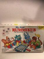 Pressman My First  Rummikub Board  Game for Kids 1994 Complete