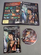 BEYOND GOOD & EVIL COMPLETE 2003 PS2 Playstation 2 TESTED WORKS