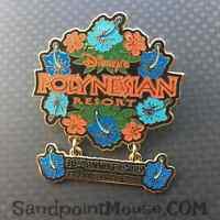 Rare Disney LE Polynesian Resort 30th Anniversary Dangle Pin (UA:7654)