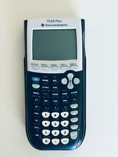Texas Instruments TI-84 Plus Graphing Calculator - Black, Pre-owned