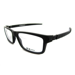 Oakley RX Glasses Prescription Frames Currency 8026-01 Satin Black