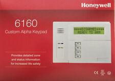 Honeywell 6160 Custom Alpha Keypad (BRAND NEW IN THE BOX FACTORY SEAL)