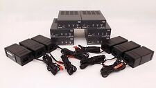 Lot of 6x Extron MPA 181T 18 Watt Mono Mini Audio Amplifier & Power Supplies