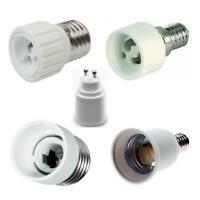 Adapter Fassung E27 - GU10 / E14 - GU10 / E27 - E14 / E14 - E27 Keramik Lampen