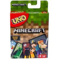 UNO Minecraft Card Game Brand New Sealed Pack Mattel