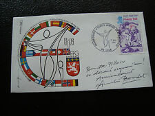 FRANCE - enveloppe 1/5/1980 (gymnastique lyon) (cy55) french