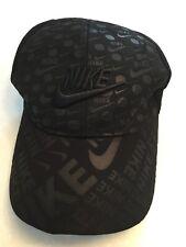 NIKE FLEXFIT BLACK BASEBALL CAP