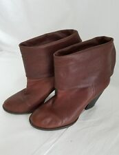 VINCE CAMUTO Brown Leather Womens Boots Size 8.5