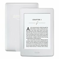 "Amazon Kindle Paperwhite White Wi-Fi 6"" High-Resolution Display 300 ppi"