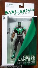 JUSTICE LEAGUE. THE NEW 52. GREEN LANTERN SIMON BAZ ACTION FIGURE. NEW IN BOX.