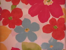 Red Blue Flowers Shower Yellow Duvet Comforter Cover Floral Company Store Teal