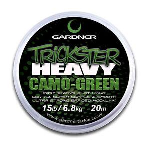 Gardner Tackle NEW Carp Fishing Trickster Heavy Braid Hooklink *All Types*