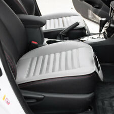 US 1pc Gray Car SUV PU Leather Seat Cover Cushion Bamboo Breathable Universal