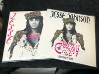 "Jesse Johnson feat. Sly Stone - Crazy 12"" Promo (2 Different Versions - A&M 1986"