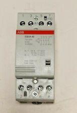 CONTATTORE MODULARE ABB ESB 24-40 24A  230-240V 40-450 Hz EL8884