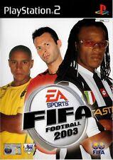 FIFA Football 2003 PS2 (PlayStation 2) - Free Postage - UK Seller