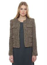 SINEQUANONE veste en tweed taille 40 (UK 12) RRP £ 189 Box4442 M