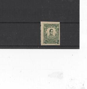 ANTIOQUIA , 1899 TYPE L40 ' TOO LATE STAMP ' L129 2 1/2c GREEN, MH