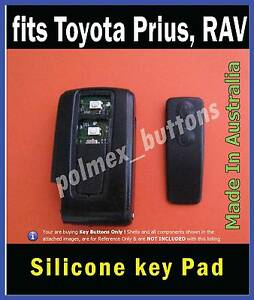 fits Toyota Prius Verso RAV remote key fob -  Replacement 2 Buttons key Pad