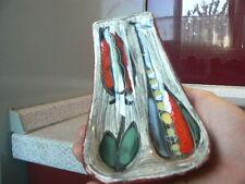 """70er Italy Italien Keramik Pfeifenständer pipe holder """" San Marino ceramic """""""