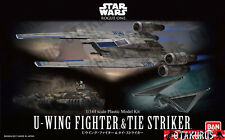 U-Wing Fighter & Tie Striker Star Wars Rogue una escala 1/144 modelo de plástico
