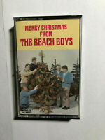 MERRY CHRISTMAS FROM THE BEACH BOYS CASSETTE TAPE