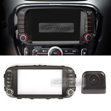 "7"" GPS Center Fascia Audio Integrated Key Rear View Camera for KIA 2014-18 Soul"