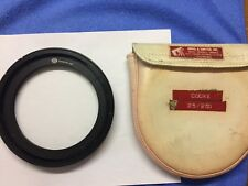 Arri Arriflex front glass filter for Cooke 25-250mm lens angenieux
