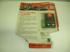 Lionel Circut Breaker Controller On Partial Blister - New In Package