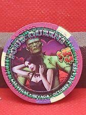 $5 FOUR QUEENS Happy Halloween CASINO CHIP ... 2011
