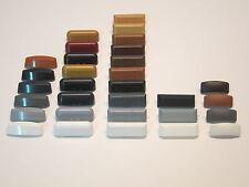 Entwässerungskappen verschiedene Typ-Muster für Alu- und PVC-Fenster beschriftet