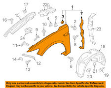 Lincoln FORD OEM 17-18 Continental-Fender Right GD9Z16005A