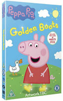 Peppa Pig - The Golden Botas DVD Nuevo DVD (EO10827D)