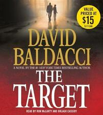 The Target by David Baldacci (2015, CD, Abridged)