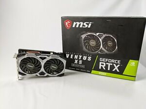 MSI NVIDIA GeForce RTX 2060 Ventus OC 6GB GDDR6 Graphics Card