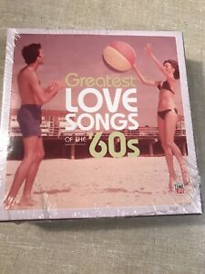 TIME LIFE PRESENTS: GREATEST LOVE SONGS OF THE 60'S [5 DISCS] NEW CD
