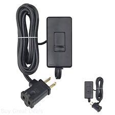Tabletop Slide Control Lamp Dimmer Black 300-Watt Full Range Slide 6 Foot New