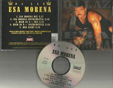 DJ LAZ Esa Morena / High As MIXES & INSTRUMENTAL & UNRELEASED USA CD single 1996
