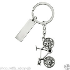 Metal Bike Cycling Cycle Keyring Keychain Key Stainless Steel Gift Bicycle Gift