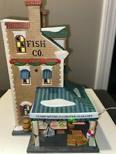 """Department 56 Christmas in the City Series - """"East Harbor Fish Co."""" - #58946"""