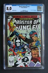 Master of Kung Fu 115 1st Ching-Lin DEATH DEALER Shang Chi MCU Film 1981 CGC 8.0