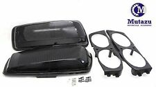 Mutazu Vivid Black Dual 6x9 Speaker Lids for 2014-UP Harley Touring Models