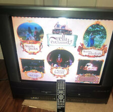 Toshiba Ma24H63 24� Crt Tv/Dvd/Vcr Combination Video Gaming Game Retro W/ Remote