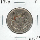 Canada 1940 Silver 50 Cents F Lot#2