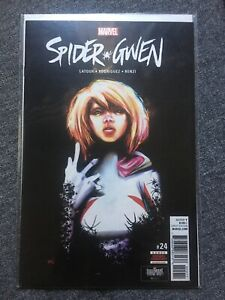 Spider-Gwen #24 1st Print First Appearance Of Gwenom (Marvel 2017)