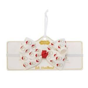 Mud Pie Holiday Kids Shoppe Santa Soft Headband