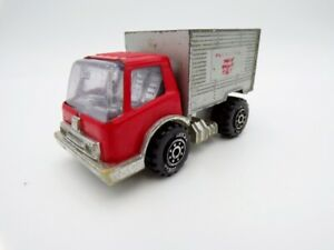 """Vintage 1980's Tonka Japan Tin Red 3.5"""" Delivery Truck Buddy L"""