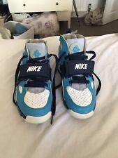 Nike Huarache Unisex Size 5 Blue White And Purple Trainers