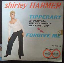 Shirley Harmer Tipperary 45 giri VG/NM 1969 Cover Fuggiaschi Clan Celentano